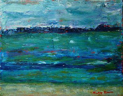 Painting - Sarasota Skyline by Mickey Krause