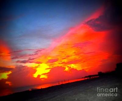 Photograph - Sarasota Sunset 3 by Vicki Lynn Sodora