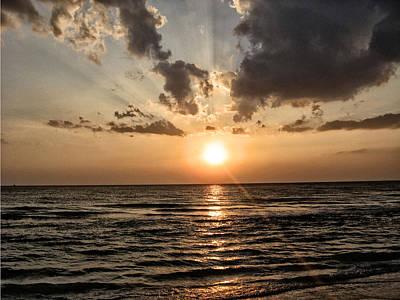 Sarasota Digital Art - Sarasota Sunset by Bill Cannon