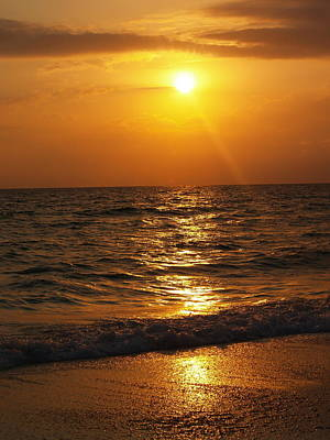 Sarasota Sunset Florida Art Print by Athala Carole Bruckner