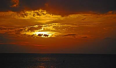 Sarasota Sunset Sun 98 Art Print by G L Sarti