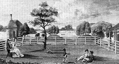 1794 Painting - Saratoga, New York, 1794 by Granger
