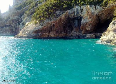 Art Print featuring the photograph Sardegna Sea by Ramona Matei