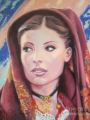 Painting - Sardinian Lady by Andrei Attila Mezei