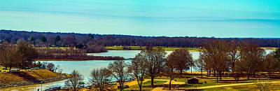 Photograph - Sardis Upper Lake Panorama by Barry Jones