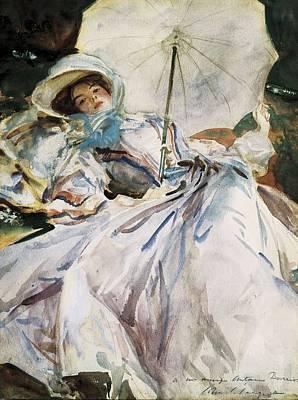 Sargent, John Singer 1856-1925. Lady Art Print by Everett