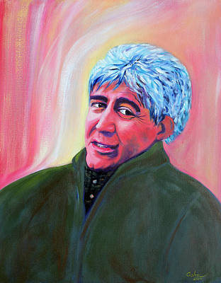 Painting - Sargon Boulus  Poet And Translator by Asha Carolyn Young