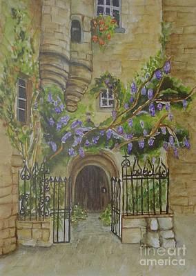 Sarlat Art Print by Sobeida Salomon