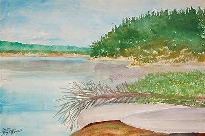 Sasaginnigak Lake Original by Troy Thomas
