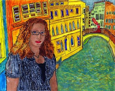 Sasha And Greta Art Print
