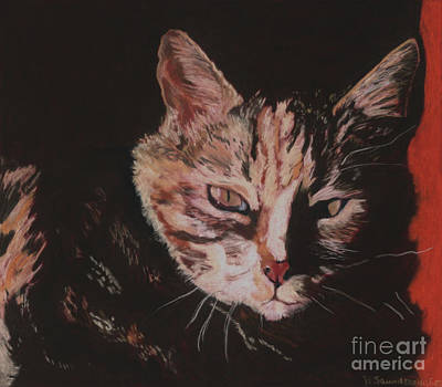 Realistic Pastel Painting - Sasha by Pat Saunders-White