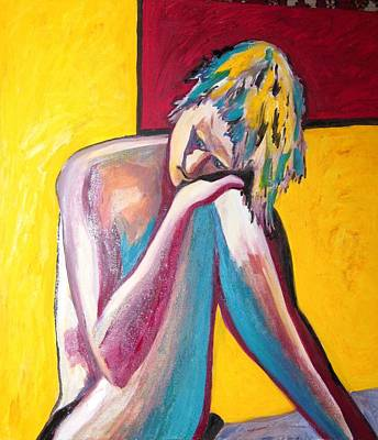 Painting - Sasha Pining Away by Esther Newman-Cohen