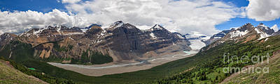 Photograph - Saskatchewan Glacier Valley by Charles Kozierok