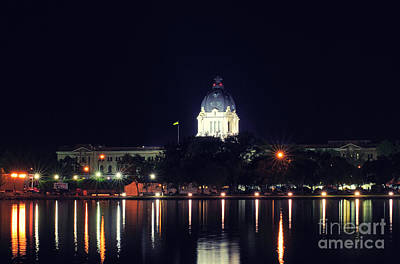 Photograph - Saskatchewan Legislative Building by Charline Xia