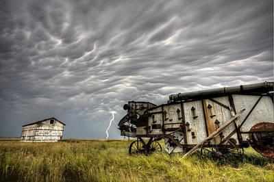 Saskatchewan Storm Art Print