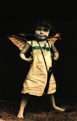 Photograph - Sassy Cupid  by Lesa Fine