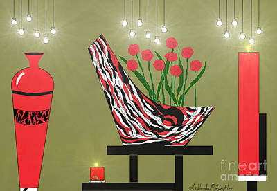 Painting - Sassy Decor by Lewanda Laboy