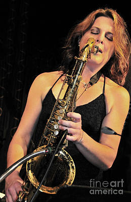 Photograph - Sassy N Sexy Saxist by Tonia Noelle