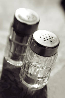 Photograph - Sat And Pepper Shaker by Matthew Pace