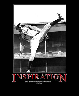 Satchel Paige Photograph - Satchel Paige Inspiration by Retro Images Archive