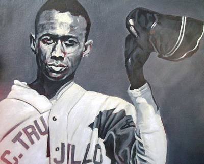 Satchel Paige Painting - Satchel Serinade by Paul Smutylo