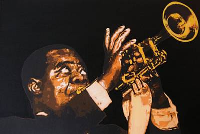 Painting - Satchmo by Rock Rivard