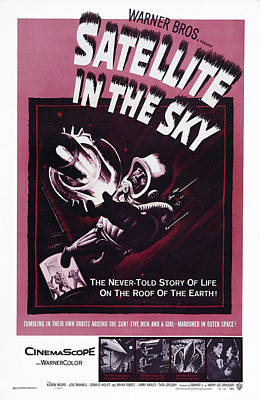Satellite In The Sky, Us Poster, 1956 Art Print by Everett