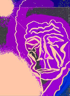 Avant Garde Mixed Media - Satellite Of Love by Mervyn Cornelius