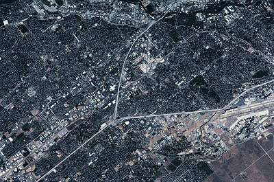 Satellite Views Photograph - Satellite View Of Boise, Idaho, Usa by Panoramic Images