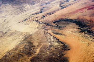 Satellite Views Photograph - Satellite View Of Desert Area, New by Panoramic Images