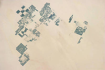 Sudan Photograph - Satellite View Of Fields In North by Panoramic Images