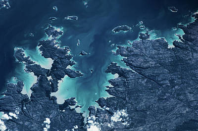 Kimberley Photograph - Satellite View Of Mitchel Plateau Area by Panoramic Images