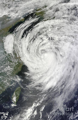 Firefighter Patents Royalty Free Images - Satellite View Of Typhoon Neoguri Royalty-Free Image by Stocktrek Images