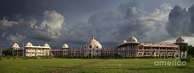 Baba Photograph - Sathya Sai Baba Super Speciality Hospital by Tim Gainey