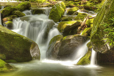 Photograph - Satin Falls by Coby Cooper