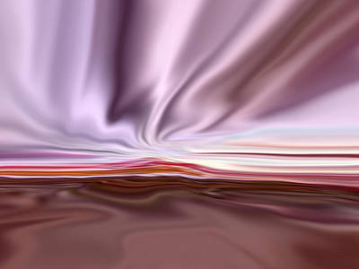 Satin Sky Art Print by Tim Stringer
