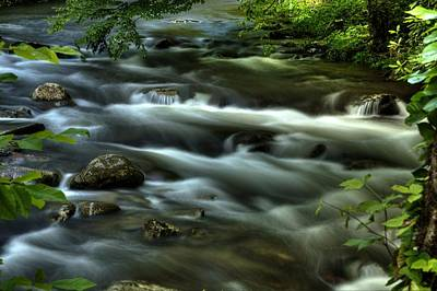 Photograph - Satin Stream by Coby Cooper