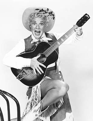 1950s Tv Photograph - Satins And Spurs, Betty Hutton, Aired by Everett