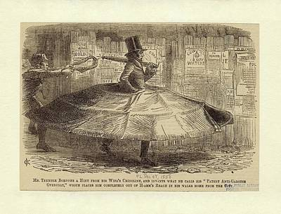 1856 Photograph - Satirical Cartoon by New York Public Library