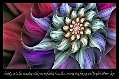 Digital Art - Satisfy Us by Missy Gainer