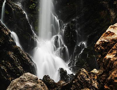 Kali Photograph - Satoddi Falls Close Look by Vishwanath Bhat