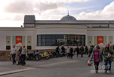 Colourfull Photograph - Saturday Morning Eight - The Spa Complex by David  Hollingworth