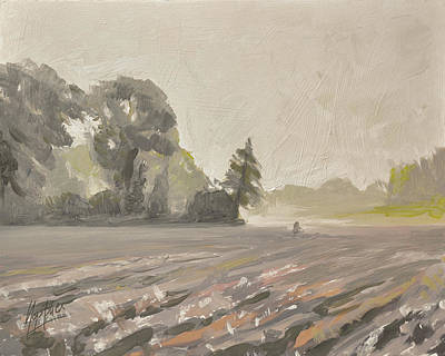 Fog Painting - Saturday Morning by Nop Briex