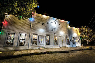 Photograph - Saturday Night At Gruene Hall by David Morefield