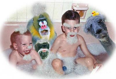 Photograph - Saturday Night Bath by Jim Fitzpatrick