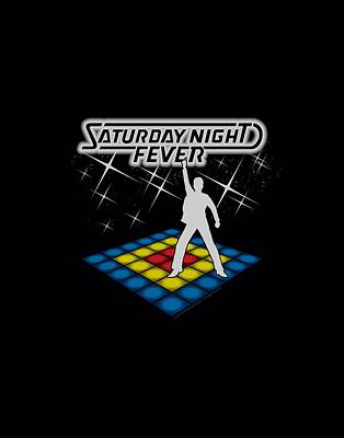 Movie Digital Art - Saturday Night Fever - Should Be Dancing by Brand A