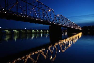 Susquehanna River Photograph - Saturday Night Lights by Lori Deiter