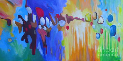 Painting - Saturday Night by Sandra Yuen MacKay