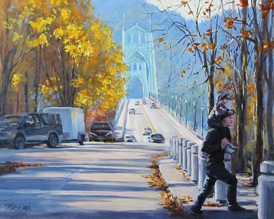 Painting - Saturday St Johns by Karen Ilari