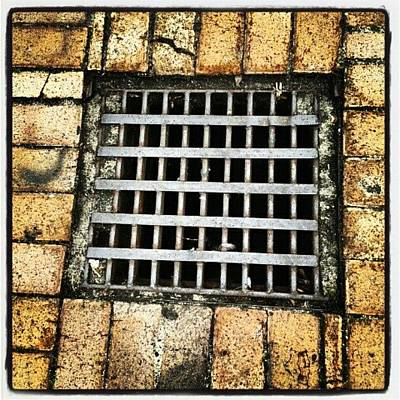 Dungeon Photograph - #saturdays #patterns #squares #bricks by Ragenangel -s